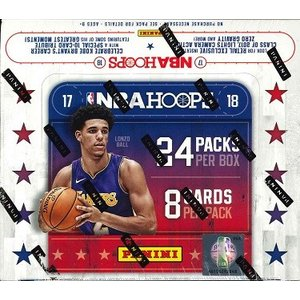 NBA 2017/2018 PANINI HOOPS BASKETBALL RETAIL BOX|niki