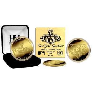 ■予約■ハイランドミント 2009 ヤンキース ワールドシリーズ優勝記念 24Kコイン|niki