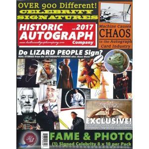 2017 HISTORIC AUTOGRAPHS FAME&PHOTO EDITION|niki