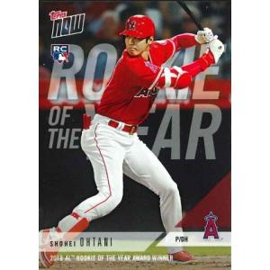 2018 TOPPS NOW #AW-1 大谷翔平 2018 AL ROOKIE OF THE YE...