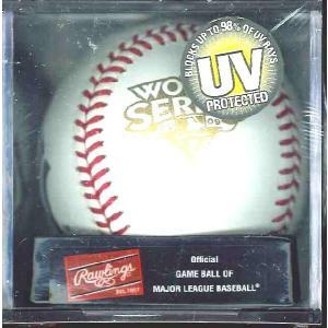 RAWLINGS 2009 ヤンキースワールドシリーズ優勝記念球 UVケース入版(#WSBB09CHAMP-R)|niki