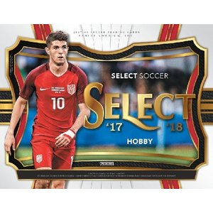 2017/18 PANINI SELECT SOCCER BOX|niki