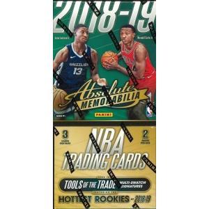 NBA 2018/2019 PANINI ABSOLUTE MEMORABILIA BASKETBALL BOX(送料無料)|niki