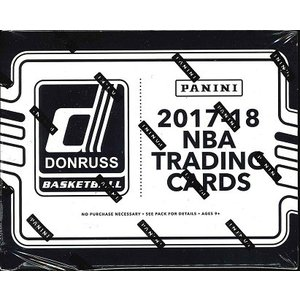 NBA 2017/2018 DONRUSS BASKETBALL FAT PACKS BOX|niki