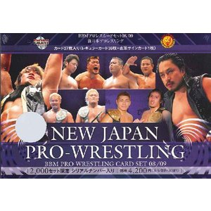 ■セール■08-09 BBM プロレスカードセット 新日本プロレスリング|niki
