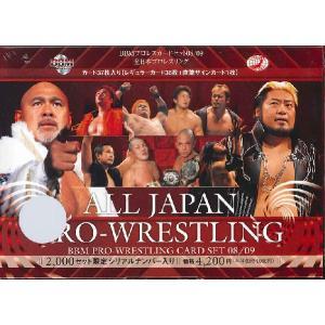 08-09 BBM プロレスカードセット 全日本プロレスリング|niki
