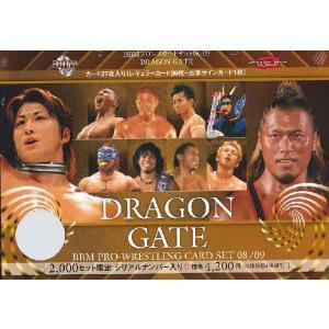 ■セール■08-09 BBM プロレスカードセット DRAGON GATE|niki