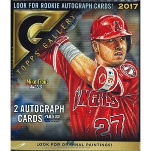 MLB 2017 TOPPS GALLERY BASEBALL BOX|niki