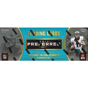 NFL PANINI PREFERRED FOOTBALL BOX|niki