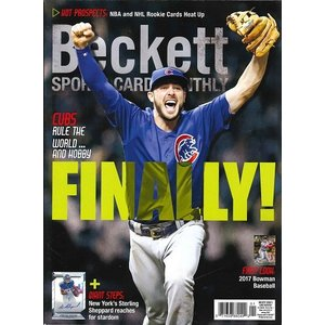 BECKETT SPORTS CARD MONTHLY #382 JANUARY 2017|niki