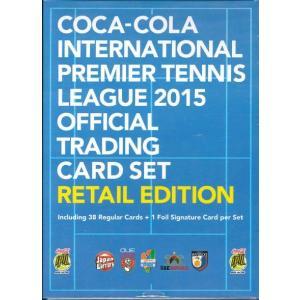 エポック コカ・コーラ インターナショナル・プレミア・テニス・リーグ 2015 オフィシャルトレーディングカード RETAIL EDITION|niki
