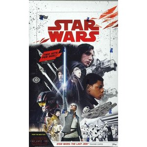 2017 TOPPS STAR WARS THE LAST JEDI BOX|niki