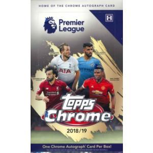 2018/19 TOPPS CHROME ENGLAND PREMIER LEAGUE BOX(送料無料)|niki