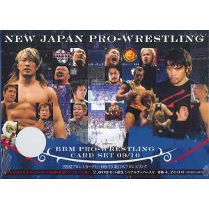 09-10 BBMプロレスカードセット 新日本プロレスリング|niki