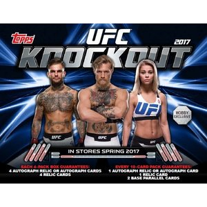 2017 TOPPS UFC KNOCKOUT BOX|niki