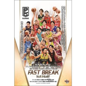 BBM×B.LEAGUE TRADING CARDS 2018-19 SEASON FAST BREAK 1st Half BOX(送料無料)|niki