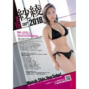 (予約)紗綾〜2018〜トレーディングカード BOX(二木限定デザインBOX特典付) (2018年2月24日発売予定)|niki