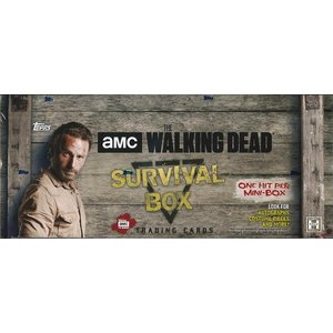 2016 TOPPS THE WALKING DEAD SURVIVAL BOX(送料無料)|niki