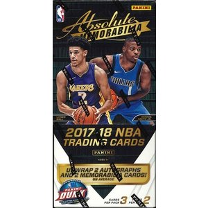 NBA 2017/2018 PANINI ABSOLUTE BASKETBALL BOX|niki