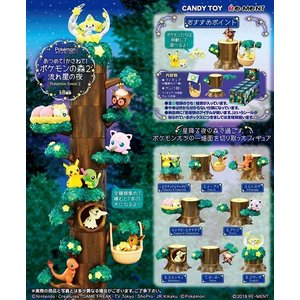 (予約)リーメント ポケットモンスター あつめて!かさねて!ポケモンの森2 流れ星の木(食玩) [8個入り]BOX 2018年12月3日発売予定|niki