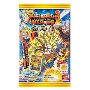ドラゴンボールヒーローズ カードグミ17 (食玩)BOX(賞味期限2016年5月)|niki