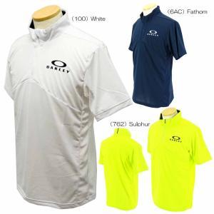 2021春夏 Oakley ENHANCE SS MOCK 11.0 FOA402416 【 半袖シャツ(ゴルフウェア) | オークリー(Oakley) 】|二木ゴルフPayPayモール店