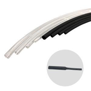 日機 熱収縮チューブ NHT-2-黒(1m) 内径2.5±0.3mm 厚み0.2mm|nikki-ys