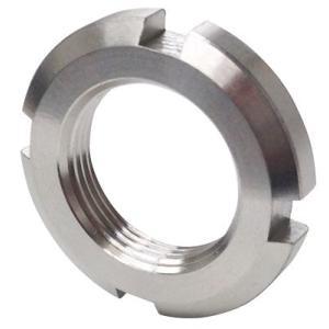 日機 ベアリング用ナット 材質:SUS304 AN00(M10×0.75P) (メーカー直販)|nikki-ys