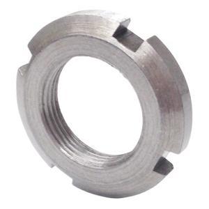 日機 ベアリング用ナット 材質:SS400 AN01(M12×1.0P) (メーカー直販)|nikki-ys