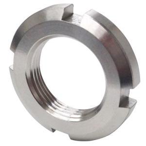 日機 ベアリング用ナット 材質:SUS304 AN01(M12×1.0P) (メーカー直販)|nikki-ys