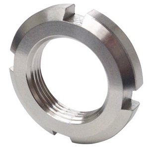 日機 ベアリング用ナット 材質:SUS304 AN03(M17×1.0P) (メーカー直販)|nikki-ys