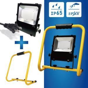 日機 LED投光器 IP65 雷対策 30W スタンド付 NLFL30F-AC (メーカー直販)|nikki-ys
