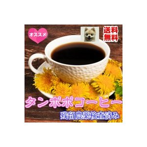 ハーブティー「タンポポコーヒー」(ドリップ式) チャック付新鮮真空パック100g 「メール便送料無料」(残留農薬検査済み) お茶 健康茶 ハーブティー|nikkosabo