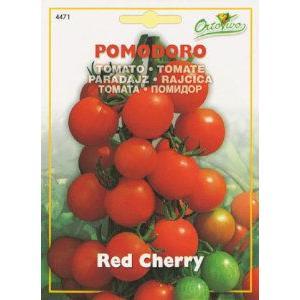 イタリアントマト(ミニトマト)・レッドチェリー(Red Cherry)は小さくて丸く、大変に甘いチェ...