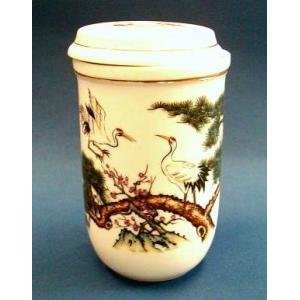 【中国茶器】茶杯(茶こし付マグカップ) #914|nikkou-t