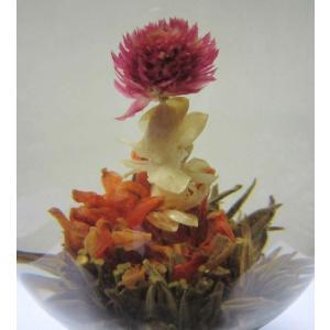 宝蓮燈【千日紅 ジャスミン花 百合花】個別包装 ジャスミン茶ベース|nikkou-t