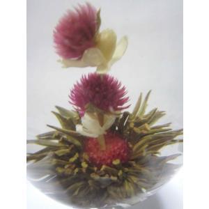 風花飄月【ジャスミン花 千日紅】個別包装 ジャスミン茶ベース|nikkou-t