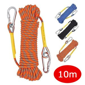 ロープ アウトドア 登山 クライミング クライミングロープ 多目的ロープ ザイル カラビナ フックボルダリング 消防