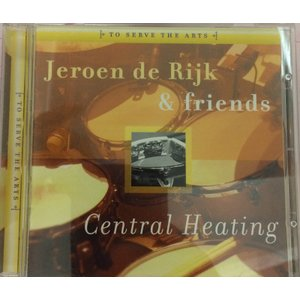 【中古-良】 Jeroen de Rijk & Friends Central Heating CD Jazz