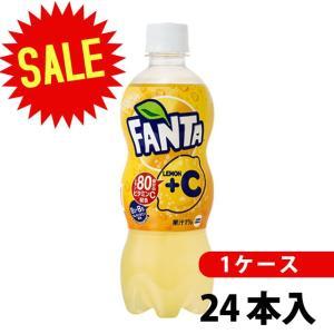 ファンタレモン+C 500mlPET24本ファンタ炭酸炭酸飲料1ケースメーカー直送|nikonikoshoes
