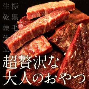 The Oniku 半生極ステーキ 100g ビーフジャーキーとはまた違う 高級 牛肉 黒毛和牛 和牛 A5 お取り寄せグルメ|niku-donya