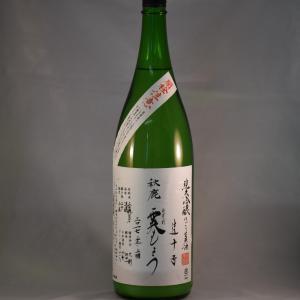 秋鹿 純米吟醸 霙もよう(みぞれもよう)1.8L|niku36835