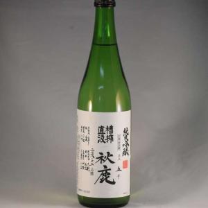 秋鹿 純米吟醸酒 槽搾直汲 1.8L|niku36835