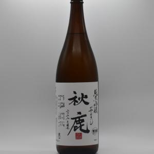 秋鹿 純米吟醸「ひやおろし」1.8L|niku36835