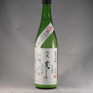 秋鹿 純米吟醸 霙もよう(みぞれもよう)720ml|niku36835