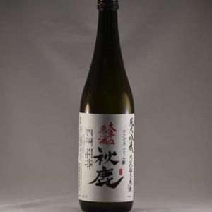 秋鹿 純米吟醸酒 無濾過 火入原酒 大辛口 720ml|niku36835