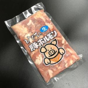 豚肉 焼肉 国産豚肉 バーベキュー 豚ホルモン (生) 300g入 お取り寄せ グルメ|nikunohiguchi-yafuu