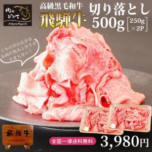 肉 牛肉 訳あり 飛騨牛 切り落とし 500g すき焼き 端っこ 牛小間 こま切れ 黒毛和牛 ブランド和牛 わけありの画像