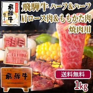 焼肉 肉 牛肉 福袋 飛騨牛 かたロース 500g もも・かた 500g バーベキューセット メガ バーベキュー BBQ 赤身 お取り寄せ グルメ|nikunohiguchi-yafuu