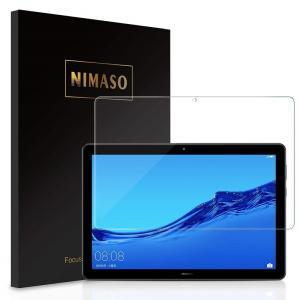 Nimaso HUAWEI MediaPad T5 10用 強化ガラスフィルム10.1インチ 旭硝子...
